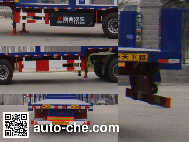 Tongya CTY9403P flatbed trailer