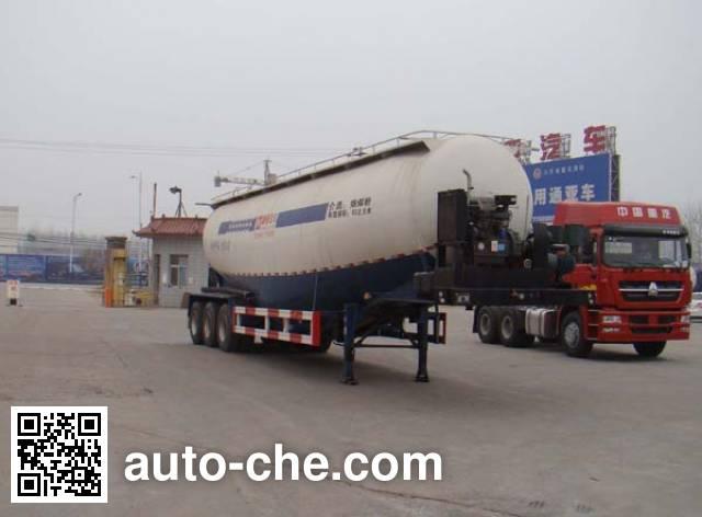 通亚达牌CTY9404GFLA低密度粉粒物料运输半挂车