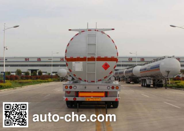 Tongya CTY9404GRYLJ flammable liquid aluminum tank trailer
