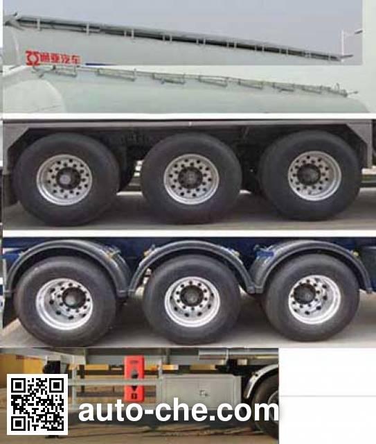 Tongya CTY9403GYYG aluminium oil tank trailer