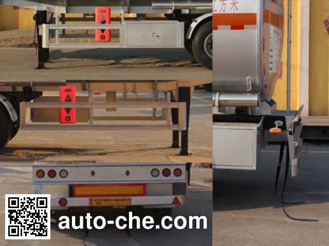 Tongya CTY9404GYYQ50 aluminium oil tank trailer