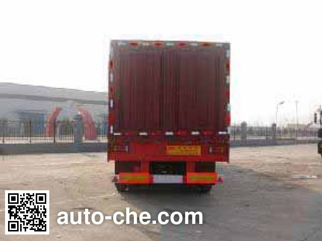 Tongya CTY9404XXY box body van trailer