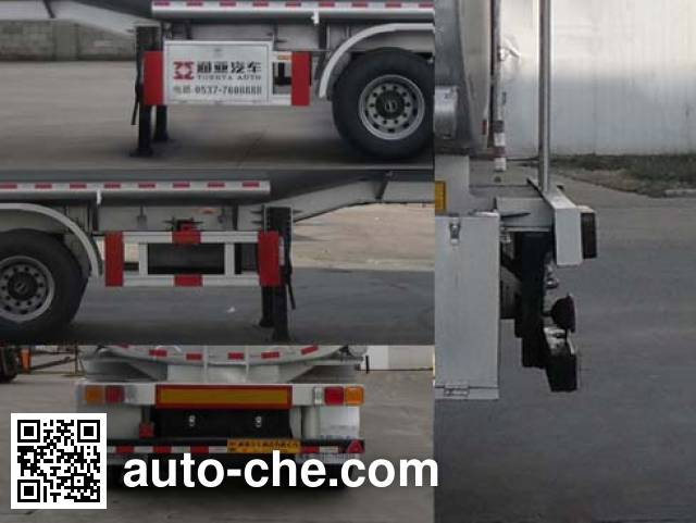 Tongya CTY9405GRY flammable liquid tank trailer