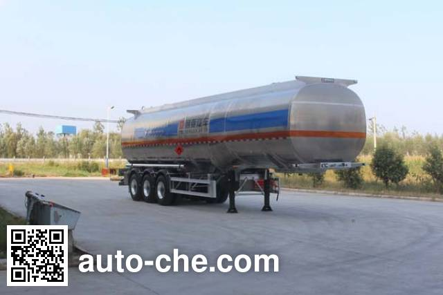 Tongya CTY9406GRY flammable liquid aluminum tank trailer