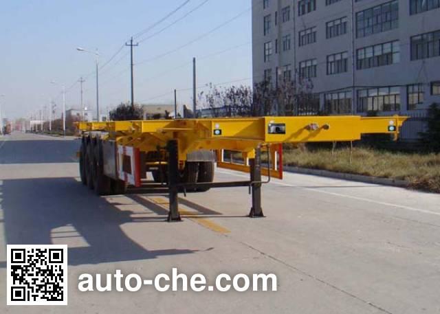 祖国统一牌CTY9400TJZGF集装箱运输半挂车