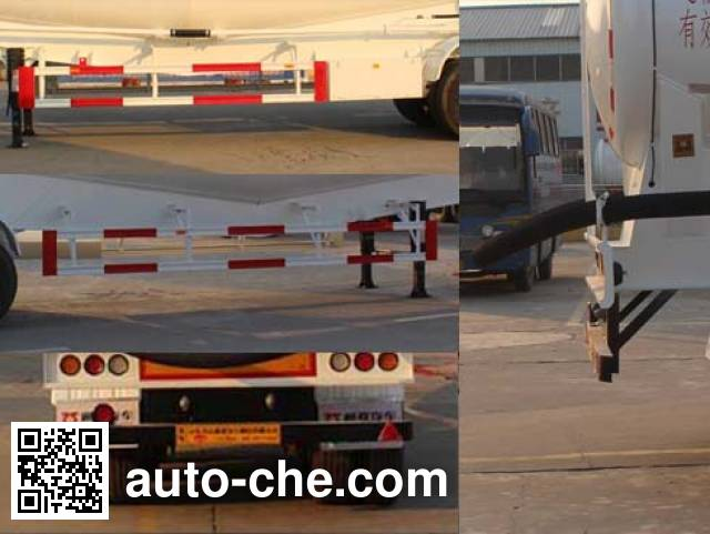 Tongya CTY9407GXH ash transport trailer