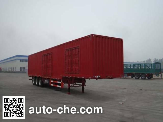 Tongya CTY9407XXYB box body van trailer