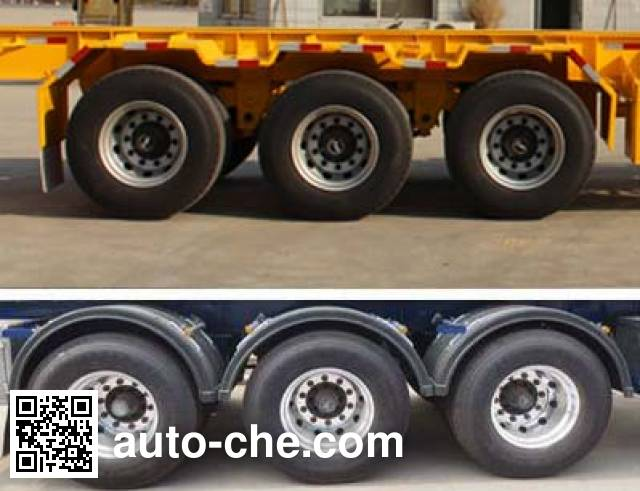 Tongya CTY9382TJZG40 container transport trailer