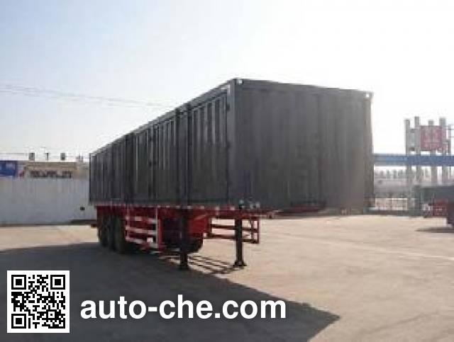 Tongya CTY9408XXY box body van trailer