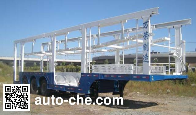 Wanrong CWR9201TCL vehicle transport trailer