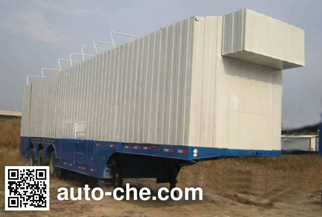 Wanrong CWR9202TCL vehicle transport trailer