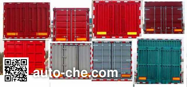 Wanrong CWR9400XXY box body van trailer