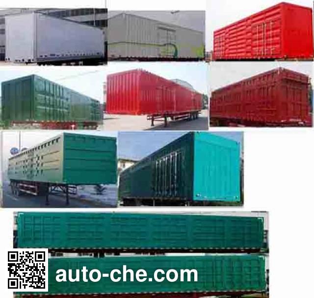Wanrong CWR9401XXY box body van trailer