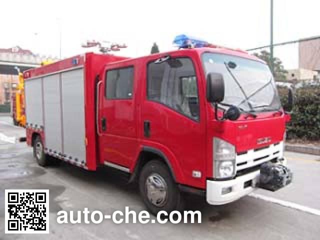 飞雁牌CX5080TXFJY100抢险救援消防车