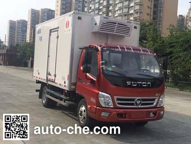 Chuanmu CXJ5041XLC refrigerated truck