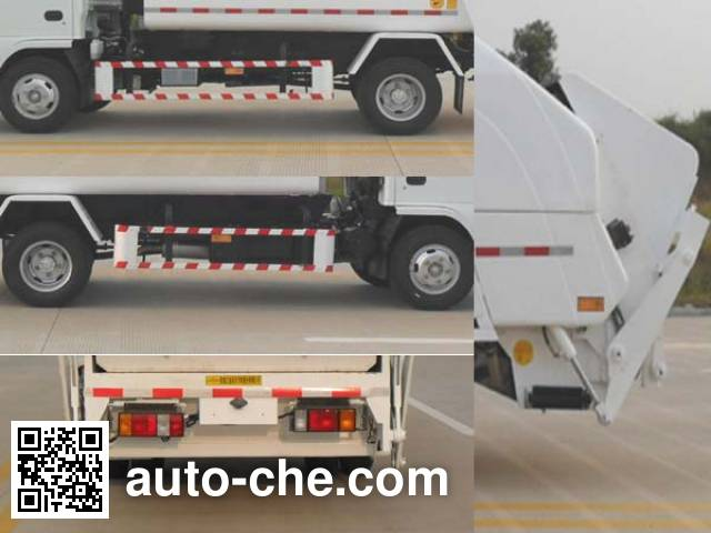 JAC Yangtian CXQ5071ZYSNKR garbage compactor truck