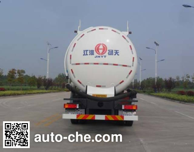 JAC Yangtian CXQ5250GFLDFL4 low-density bulk powder transport tank truck