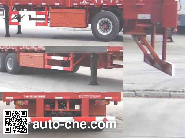 JAC Yangtian CXQ9261 trailer