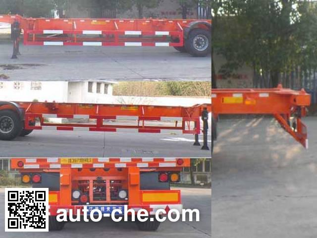 JAC Yangtian CXQ9361TJZG container transport trailer