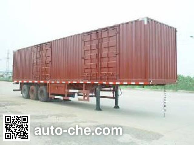 江淮扬天牌CXQ9393XXY厢式运输半挂车