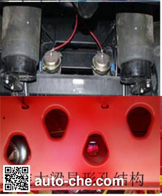 JAC Yangtian CXQ9400A trailer
