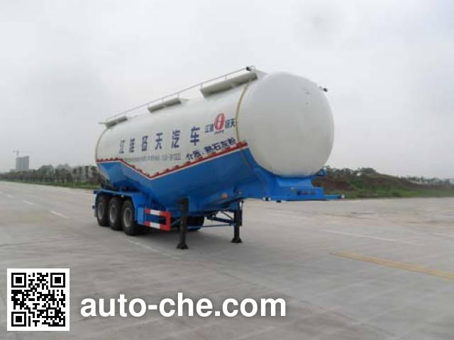 JAC Yangtian CXQ9400GFLF low-density bulk powder transport trailer