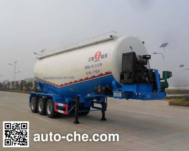 JAC Yangtian CXQ9400GFLH medium density bulk powder transport trailer
