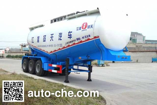 JAC Yangtian CXQ9400GFLK medium density bulk powder transport trailer