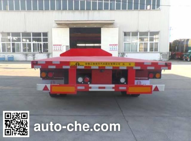 江淮扬天牌CXQ9400TDPB低平板半挂车