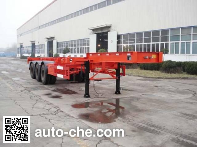 JAC Yangtian CXQ9400TJZGE container carrier vehicle