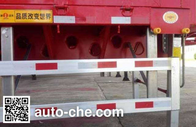 江淮扬天牌CXQ9400ZZXP平板自卸半挂车