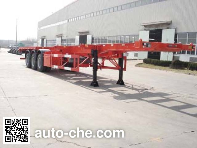 JAC Yangtian CXQ9381TJZG container carrier vehicle