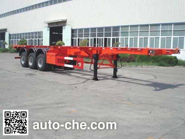 JAC Yangtian CXQ9403TJZG container carrier vehicle