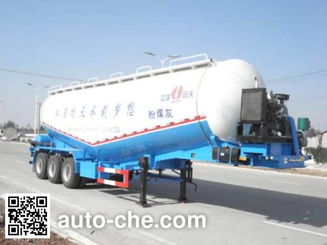 JAC Yangtian CXQ9407GFL medium density bulk powder transport trailer