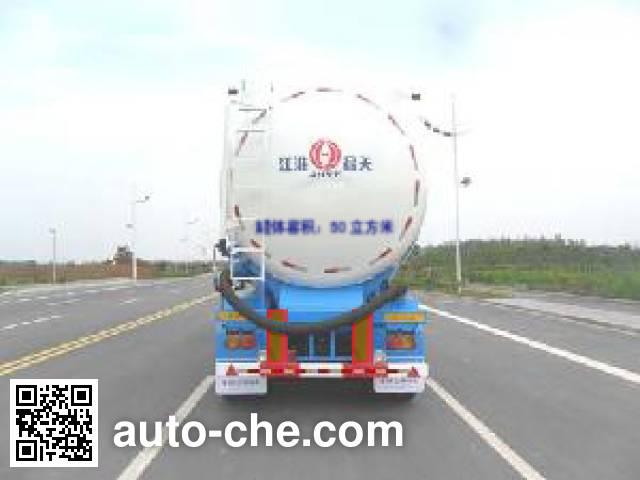 JAC Yangtian CXQ9409GFL low-density bulk powder transport trailer