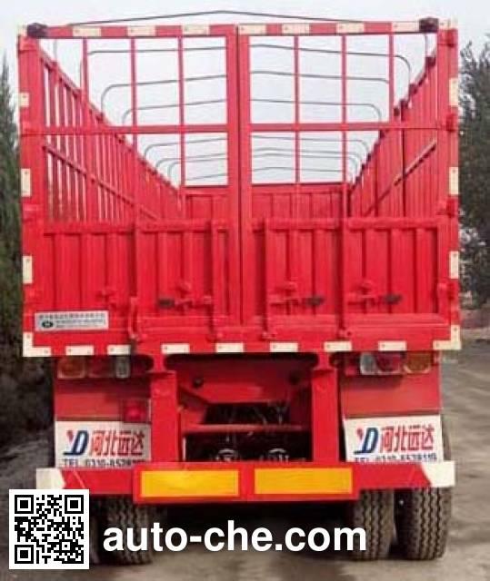 Yongkang CXY9380CCYB stake trailer