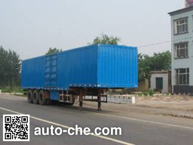 Yongkang CXY9402XXY box body van trailer