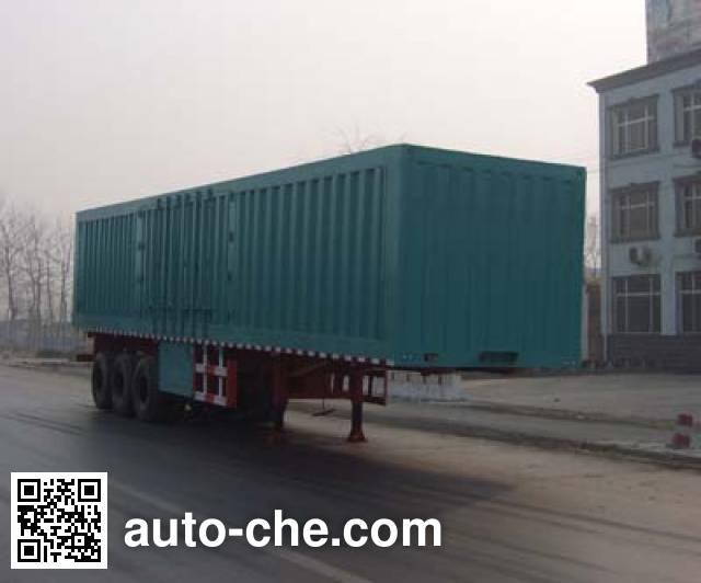 Yongkang CXY9350XXY box body van trailer