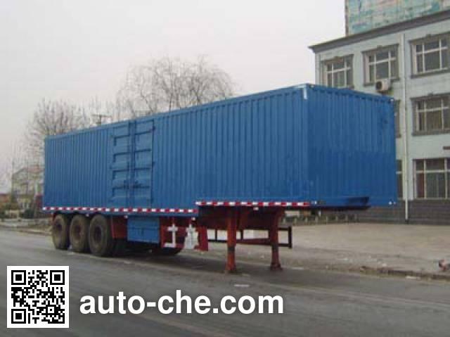 Yongkang CXY9392XXY box body van trailer