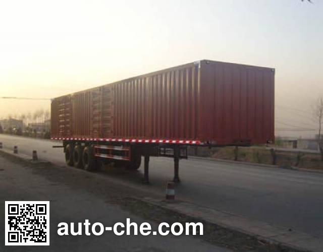 Yongkang CXY9408XXY box body van trailer