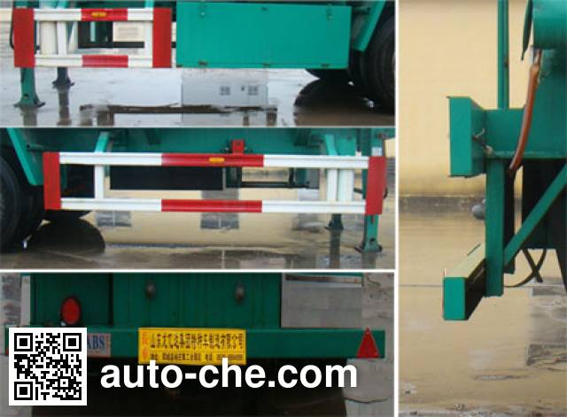 Longyida CYL9401GSY edible oil transport tank trailer