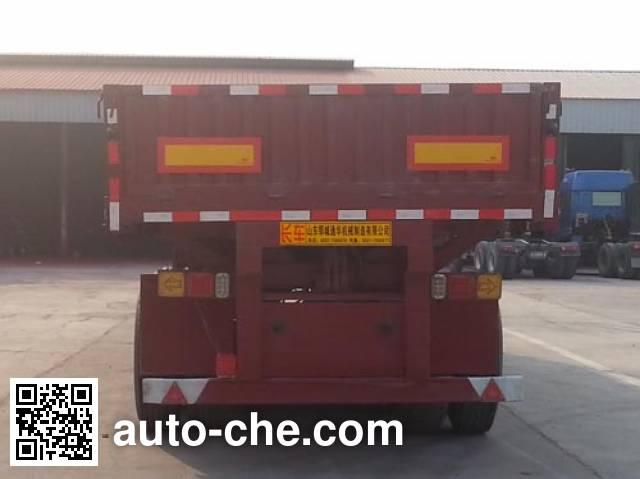 华威翔运牌CYX9400Z自卸半挂车