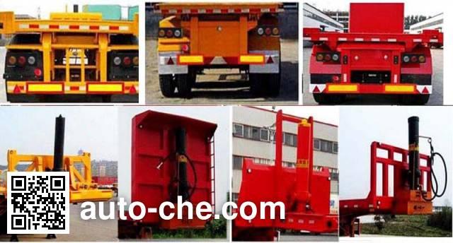 Huawei Xiangyun CYX9400ZZXP flatbed dump trailer