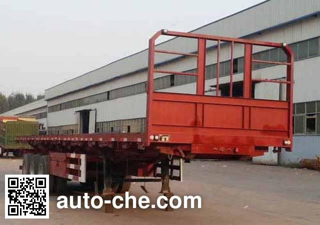 Huawei Xiangyun CYX9404ZZXP flatbed dump trailer
