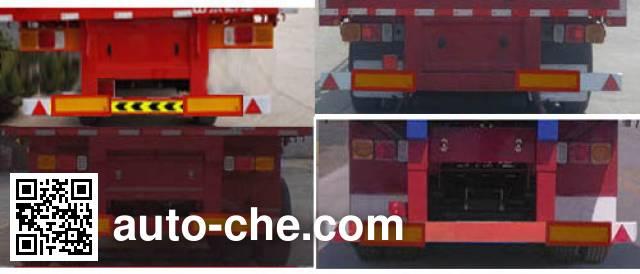 华威翔运牌CYX9401Z自卸半挂车