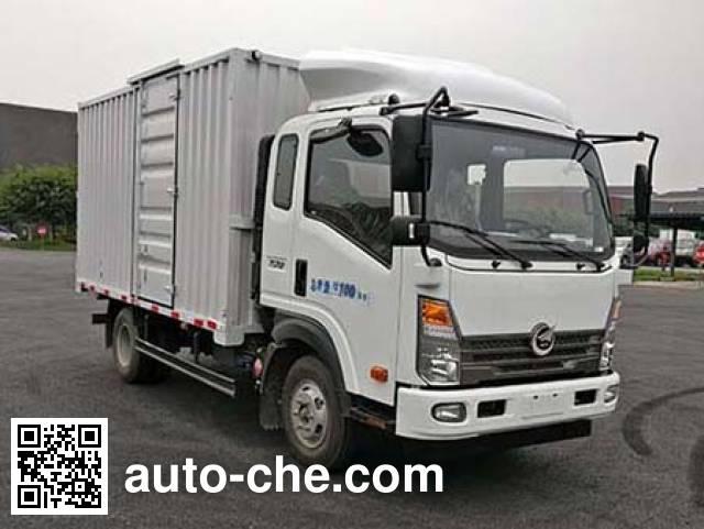 Changzheng CZ5040XXYSQ15 box van truck