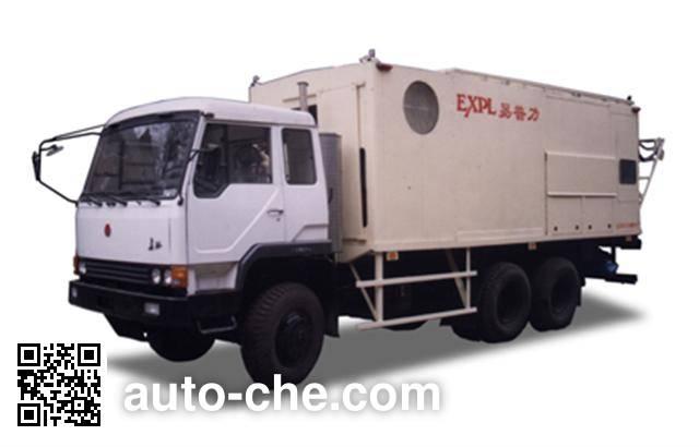 Changzheng CZ5250GHZSU375 emulsion explosives transport truck