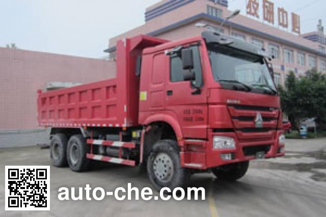 炫虎牌DAT3250ZZ自卸汽车