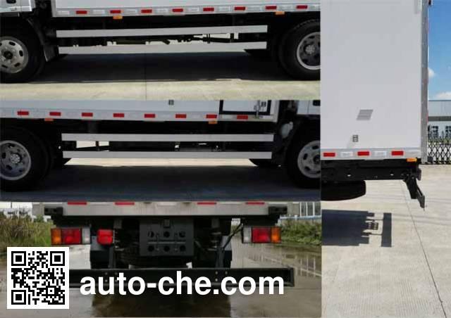 Yingchuang Feide DCA5100XCQW098 chicken transport truck