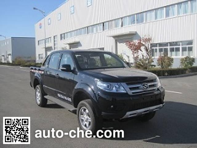 Huanghai DD1031LCNG dual-fuel pickup truck